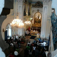 Photo taken at Sanctuary of Our Lady of Penha de France by Thiago A. on 10/13/2012