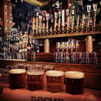 Photo taken at Rogue Ales Public House by Robert L. on 6/22/2013