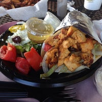 Photo taken at Mr. Gyros - Mediterranean Grill by Robert L. on 9/22/2013
