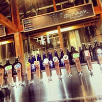 Photo taken at Saltwater Brewery by Robert L. on 1/19/2014