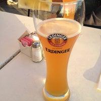 "Photo taken at Erdinger Weissbrau by Claudine ""Cheesecake"" S. on 9/25/2013"
