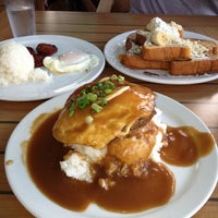 Photo taken at Kihei Caffe by Julee I. on 11/21/2012