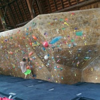 Photo taken at Red Barn Climbing Gym by THÜNDERHORßE ก. on 7/11/2015
