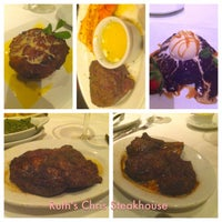 Photo taken at Ruth's Chris Steak House by Shahensha R. on 2/16/2013