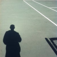 Photo taken at The Enclave Apartments Tennis Court by Shahensha R. on 3/3/2013