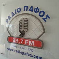 Photo taken at ΡΑΔΙΟ ΠΑΦΟΣ 93.7 FM by Anna A. on 1/31/2014