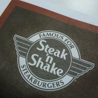 Photo taken at Steak 'n Shake by Michael Aaron P. on 2/25/2013