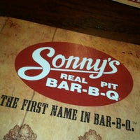 Photo taken at Sonny's BBQ by Michael Aaron P. on 2/12/2013