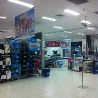 Photo taken at Decathlon by Angelo F. on 1/14/2013
