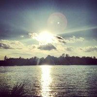 Снимок сделан в Среднее Суздальское озеро пользователем Tatiana 7/26/2013