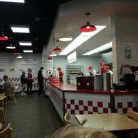 Photo taken at Five Guys by Tony on 11/11/2012