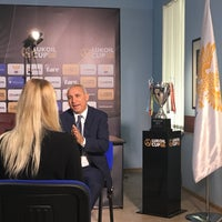 Photo taken at Российский футбольный союз by Elvira D. on 6/12/2017