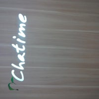 Photo taken at Chatime (Good Tea Good Time) by Berthin H. on 2/4/2014