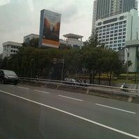 Photo taken at Tol dalam kota Semanggi 2 by Dewo S. on 12/26/2012