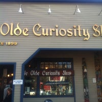 Photo taken at Ye Olde Curiosity Shop by Natalie C. on 3/30/2013