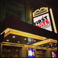 Photo taken at Longacre Theatre by Mika T. on 7/20/2013