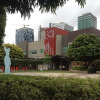 Photo taken at Bonifacio High Street by April Andrea on 6/18/2013