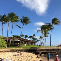 Photo taken at Snorkeling @ Lawai Beach by Norm Y. on 2/17/2013