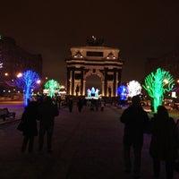 Photo taken at Каток «Новая лига» by Анна Dj Anna Rich Р. on 1/7/2013