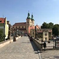 Photo taken at Most Sw. Jana by Matúš M. on 8/5/2018