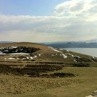 Photo taken at Great Orme Summit by Wojtek T. on 4/3/2013