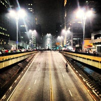 Photo taken at Paulista Avenue by Felipe S. on 6/21/2013