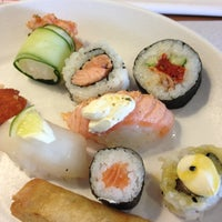 Photo taken at Sushi Express by Fernanda S. on 11/1/2012