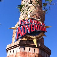 Photo taken at Universal's Islands of Adventure by erin f. on 3/25/2013