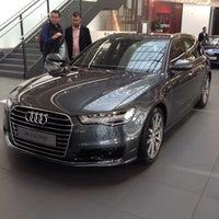 Photo taken at Audi by Orçun K. on 4/17/2015