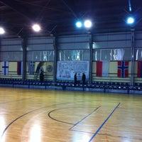Photo taken at Γηπεδο Basket ΦΟΤ ΧΑΛΑΝΔΡΙΟΥ by Akis K. on 2/13/2013