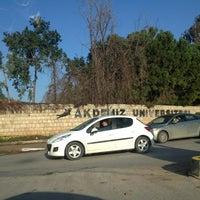 1/5/2013에 Çiğdem T.님이 Akdeniz Üniversitesi에서 찍은 사진