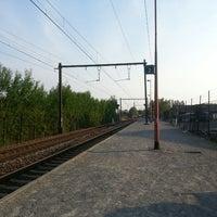Photo taken at Gare de Bierges-Walibi by Hangan R. on 6/8/2013