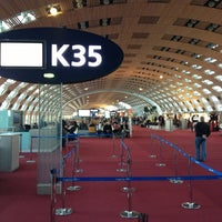 Photo taken at Terminal 2E by Екатерина Ш. on 2/9/2013