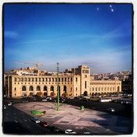 Снимок сделан в Площадь Республики пользователем Armine A. 11/28/2012