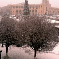 Снимок сделан в Площадь Республики пользователем Armine A. 12/13/2013