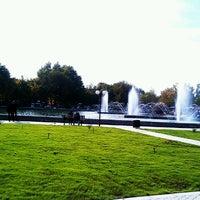 Photo taken at Yerevan Physics Institute Park   Երևանի ֆիզիկայի ինստիտուտի այգի by Armine A. on 11/1/2012