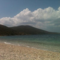 Photo taken at Παραλία Κολυμπάδας by Petros on 8/21/2013