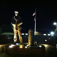 Photo taken at The Lone Sailor Memorial by David W. on 12/13/2012