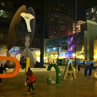 Photo taken at Daley Plaza Picasso by David W. on 3/31/2013