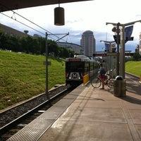 Photo taken at MetroLink - Union Station by David W. on 5/25/2013