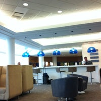 Photo taken at Delta Sky Club by David W. on 7/8/2013