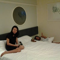 Photo taken at Value Hotel Balestier by Eva S. on 9/22/2012