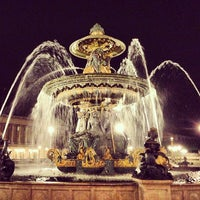 Photo taken at Place de la Concorde by Montana T. on 5/6/2013