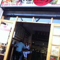 8/16/2013 tarihinde Andrés C.ziyaretçi tarafından One Way Sushi'de çekilen fotoğraf