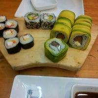 Photo taken at Sushihana by maritza p. on 6/17/2013