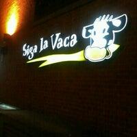 Photo taken at Siga La Vaca by Henrique H. on 9/16/2012