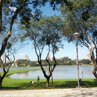 Photo taken at Parque Barigui by Eduardo S. on 6/1/2013