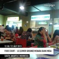 Photo taken at Foodcourt LG by Debora Dewi K. on 7/12/2013