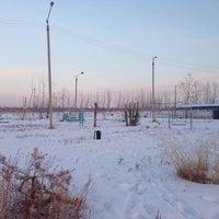 Photo taken at Парк by Aryuna Z. on 1/3/2014