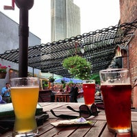 Photo taken at City Beer Hall by Shawn on 7/12/2013